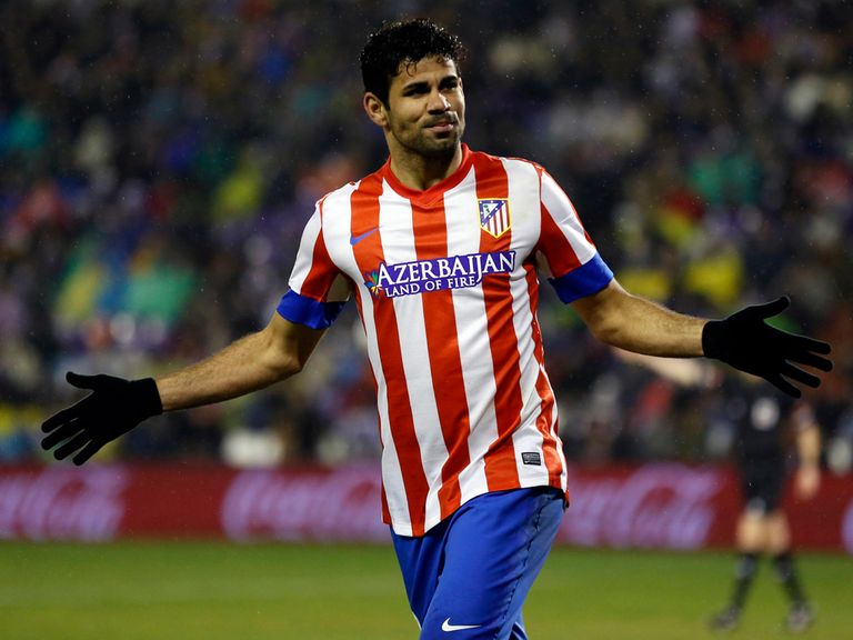 Diego Costa: Set for Atletico Madrid stay