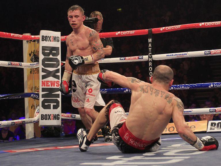 Carl Frampton: Impressive victory over Kiko Martinez (Lawrence Lustig)