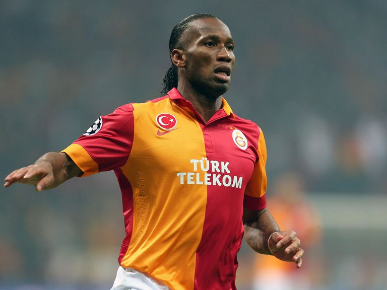 Didier Drogba: Played for Galatasaray against Schalke