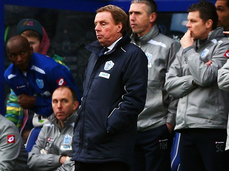 Harry Redknapp: Looking forward to Manchester United's visit