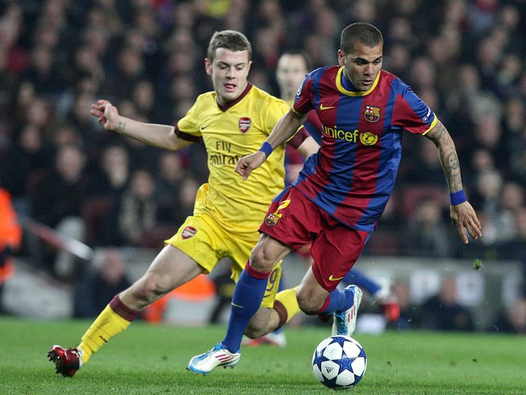 Wilshere has received praise from Alves.