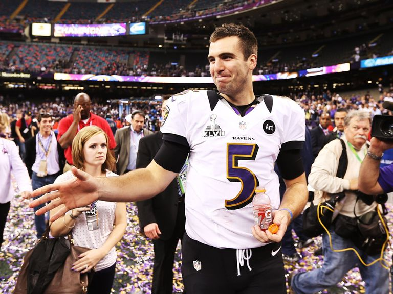 Flacco: Earned the MVP award
