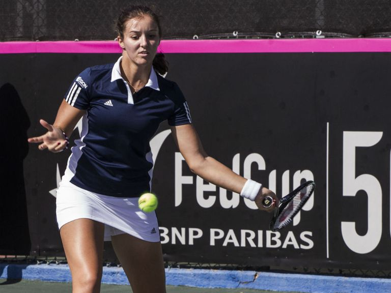 Laura Robson: Recovered from disastrous first set