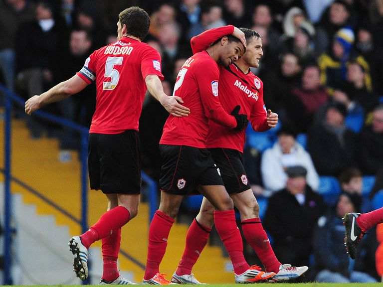 Fraizer Campbell scored Cardiff's winner at Leeds.