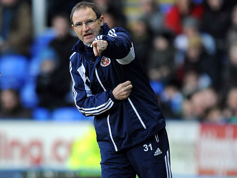 Martin O'Neill: Has left Sunderland post