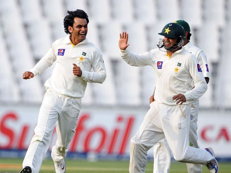 Mohammad Hafeez: Finished with four wickets