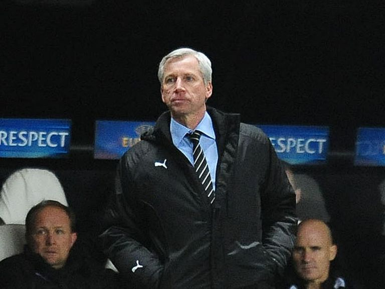 Alan Pardew: Hoping performances will get better