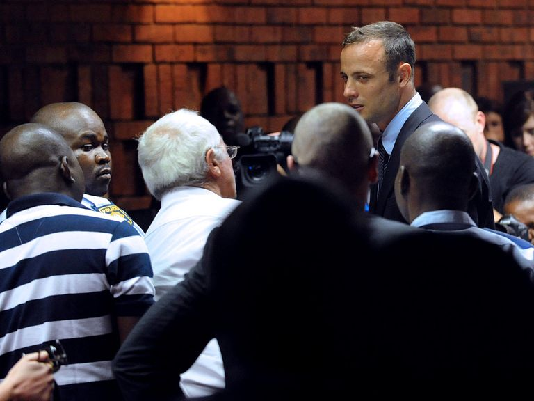 Oscar Pistorius: Appeared in court on Friday