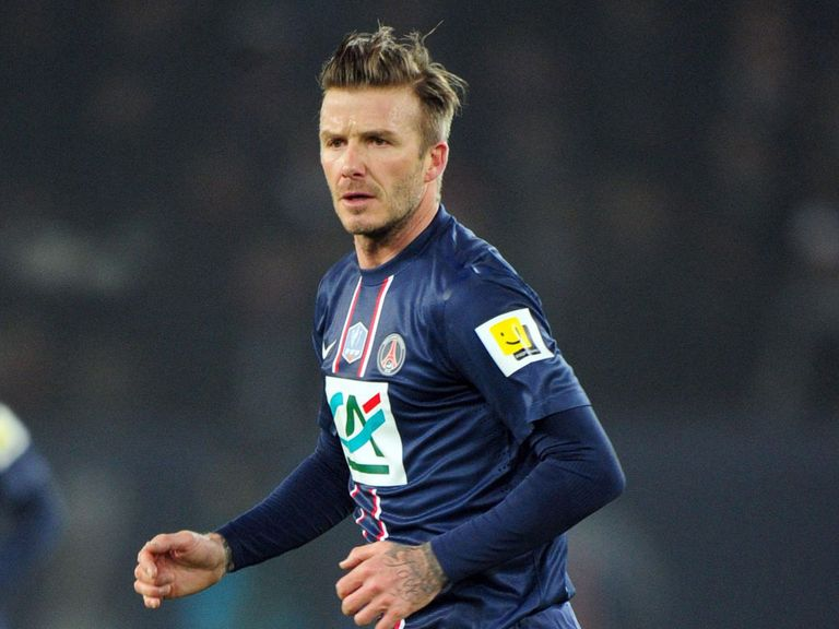 David Beckham: Started for PSG