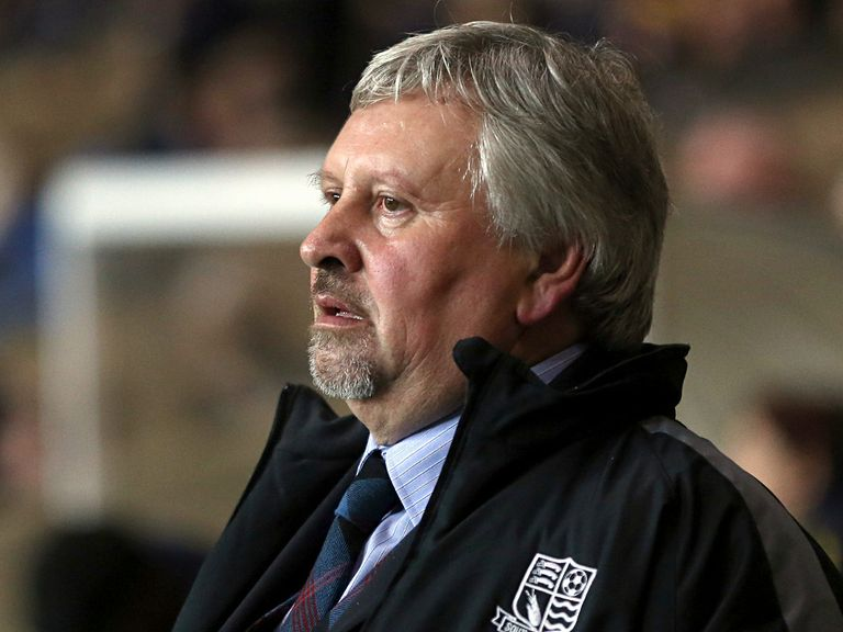 Paul Sturrock: Still in charge for the Johnstone's Paint Trophy final