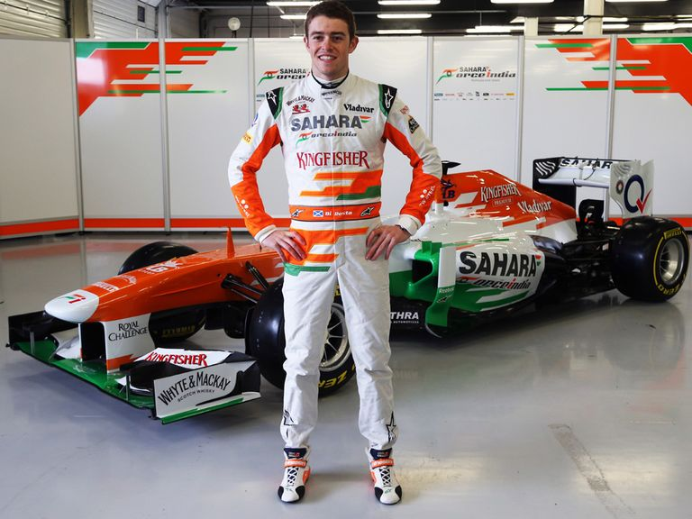 Paul Di Resta: Unveils the new Force India car