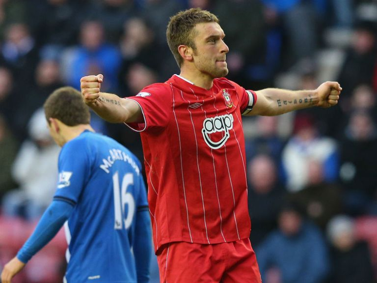 Rickie Lambert: Carries goal threat for Southampton