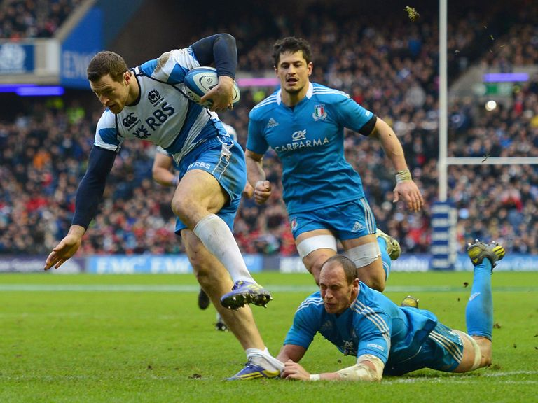 Tim Visser: Two tries in the Six Nations campaign
