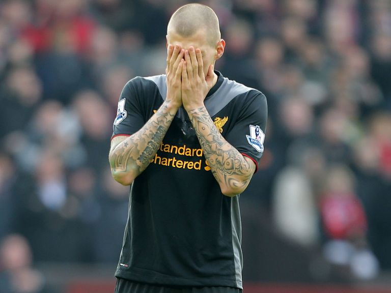 Martin Skrtel: Frustrated with life at Liverpool