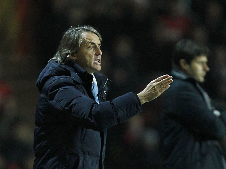 Roberto Mancini: 'It's not always the fault of the manager'