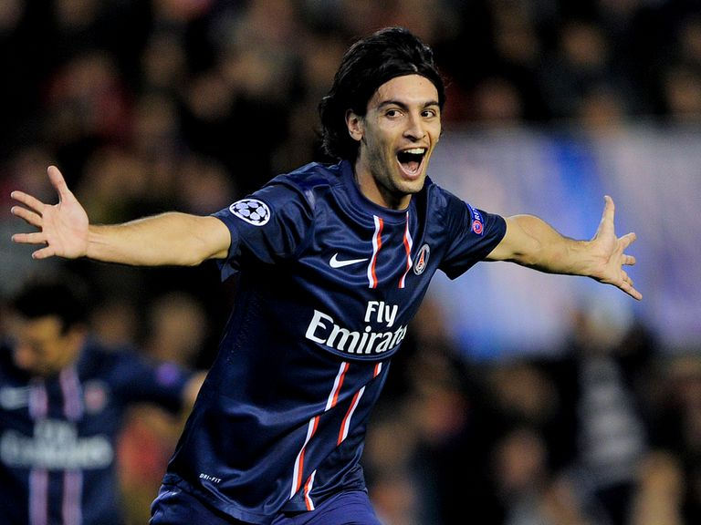 Javier Pastore: Says Beckham has inspired belief in PSG