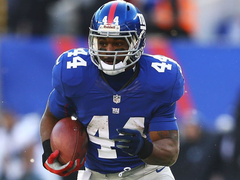 Ahmad Bradshaw: Drafted by the Giants in the seventh round back in 2007