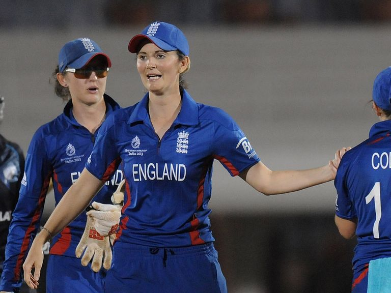 Charlotte Edwards: Has led England to a series lead