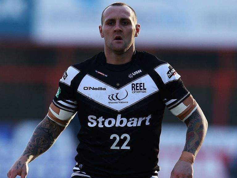 Gareth Hock: On loan at Widnes from Wigan this season