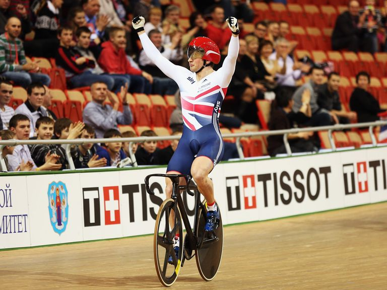 Jason Kenny: Struck gold in Minsk