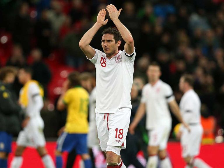 Lampard: In fine form for club and country