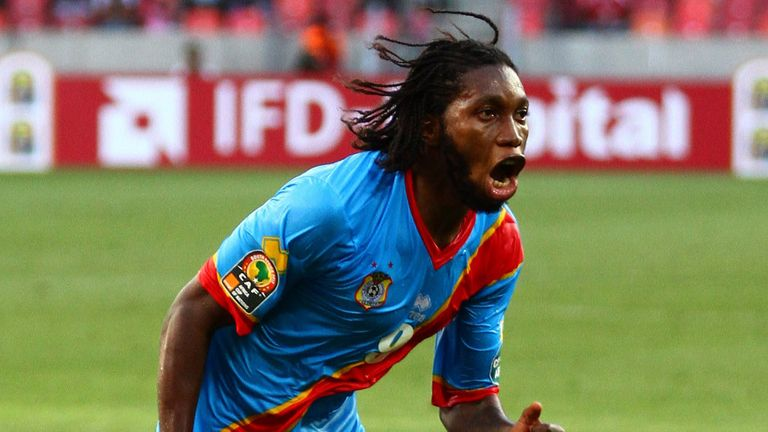 Dieumerci Mbokani: Claims English clubs have expressed an interest in his services