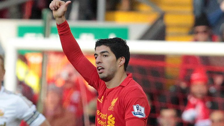 Luis Suarez: Could walk away with player awards