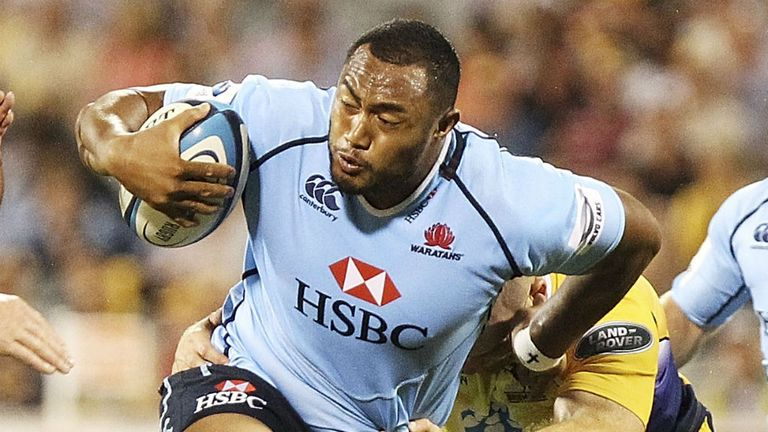Sekope Kepu: Has signed a new deal with the Waratahs and ARU