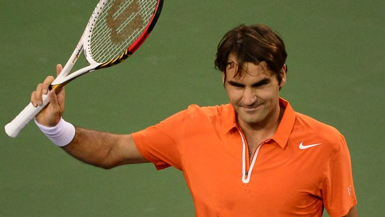 Roger Federer: Claims he got 'lucky' against Stanislas Wawrinka