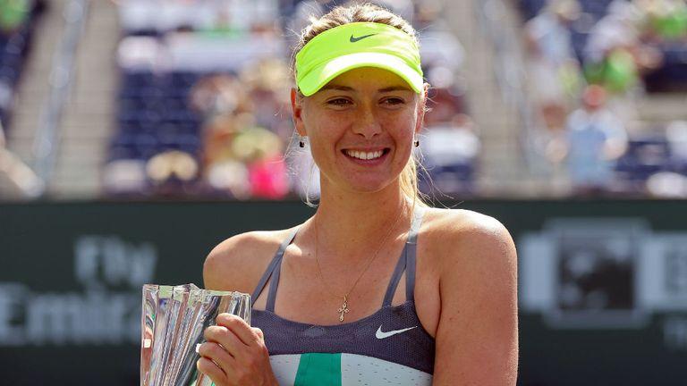 Maria Sharapova: Second Indian Wells title