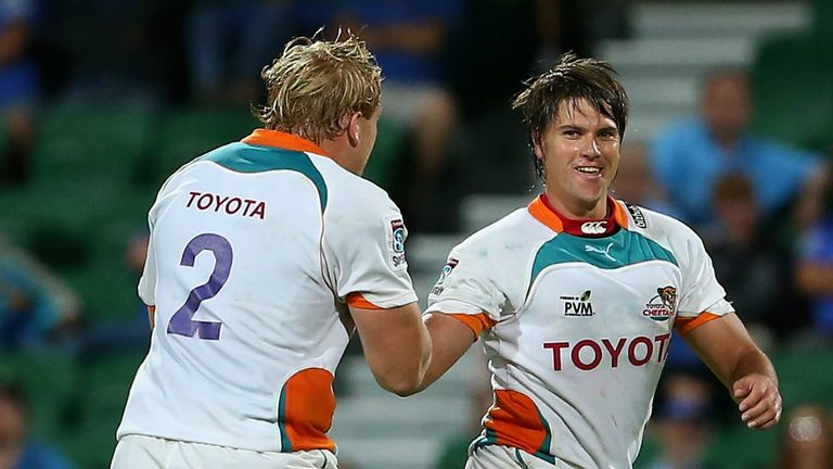 Riaan Smit: Cheetahs stand-off kicked four penalties and a conversion