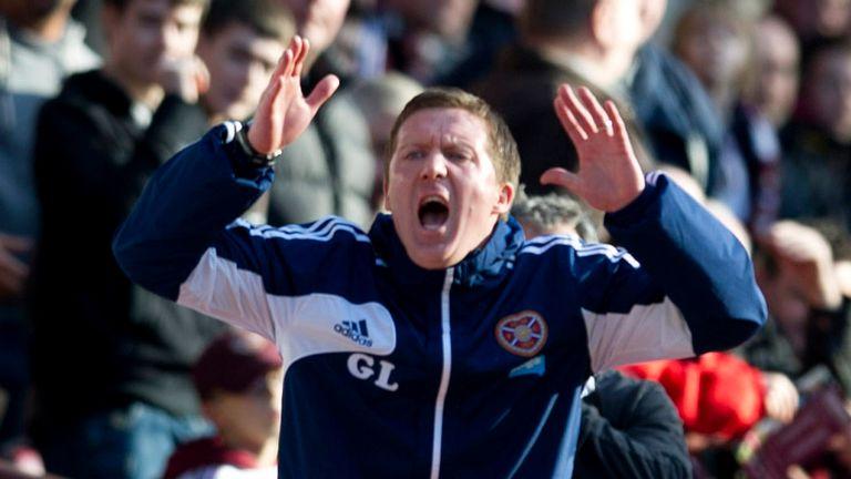 Locke: faces a tall order at Hearts this season, says Andy Walker