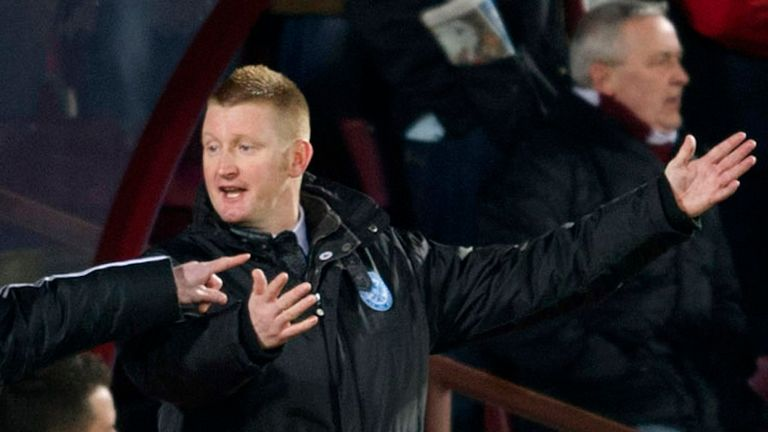 Steve Lomas: Pleased with his side's display at Inverness.