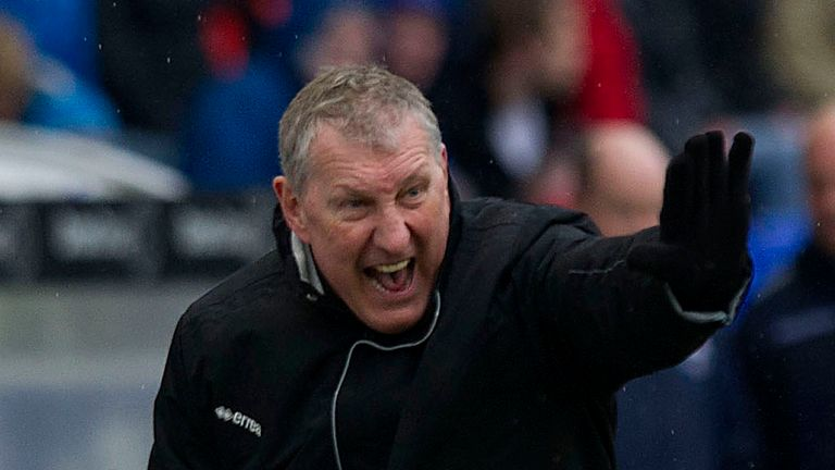 Terry Butcher: Blames missed chances for Inverness not securing a Europa League spot
