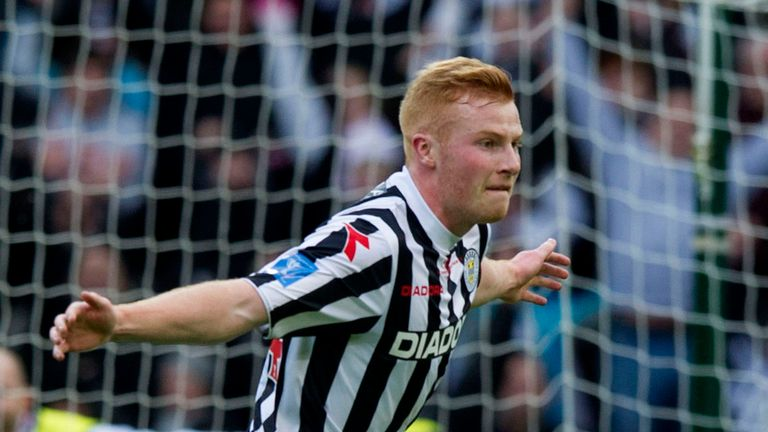 Conor Newton: Helped St Mirren to League Cup final glory on Sunday