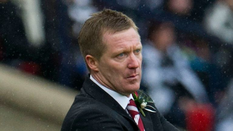 Gary Locke: Led Hearts to a 10th-placed finish in SPL last season