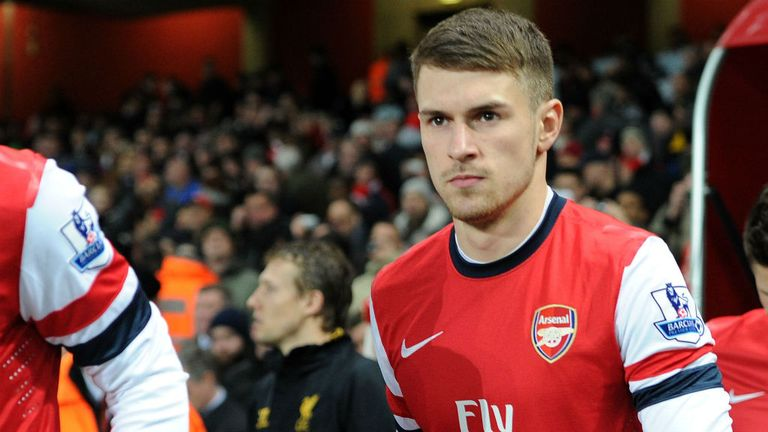 Aaron Ramsey: Is convinced he made the right decision in signing for Arsenal