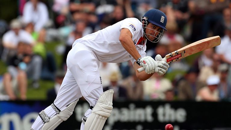 Alastair Cook: Delighted for opening partner Nick Compton after maiden Test century in Dunedin