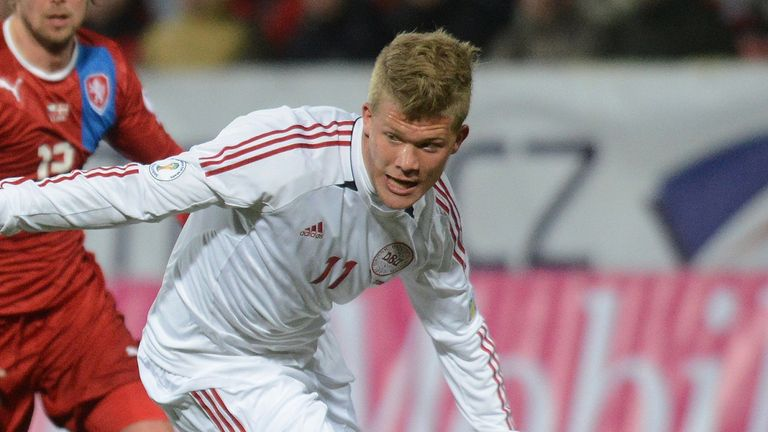 Andreas Cornelius: Striker understood to be on Stoke's wanted list