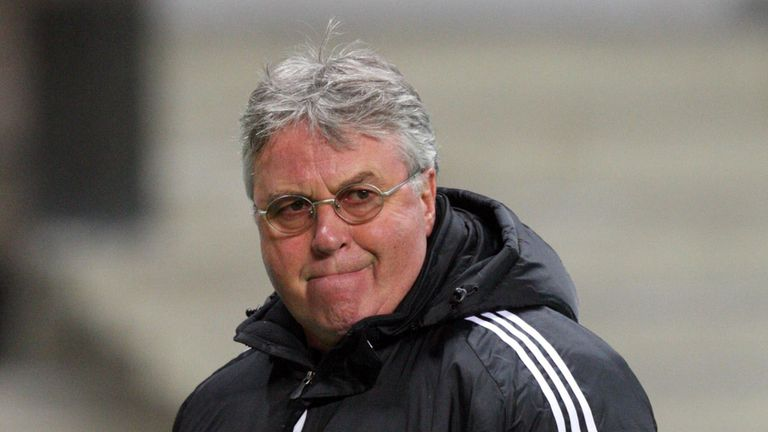 Guus Hiddink: Anzhi boss to consider his future amid PSG links