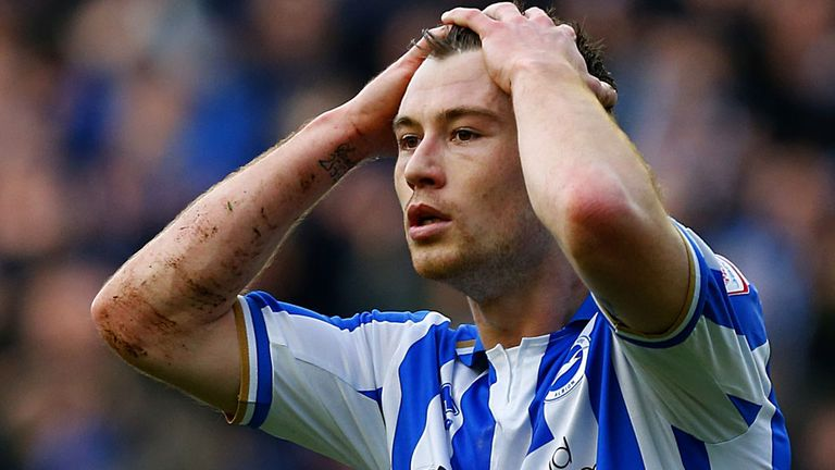 Ashley Barnes: Has scored 41 league goals for Brighton