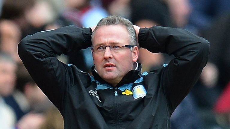 Paul Lambert: Says Aston Villa have been on the wrong end of some harsh decisions this season