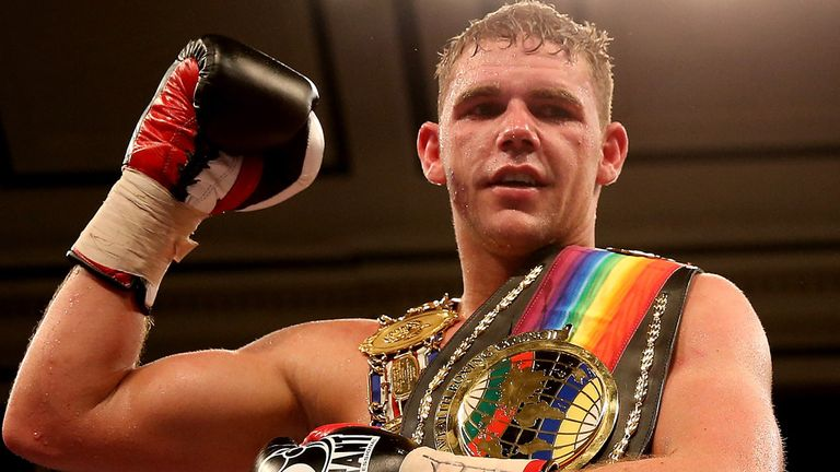 Billy Joe Saunders: Ready to take on all-comers