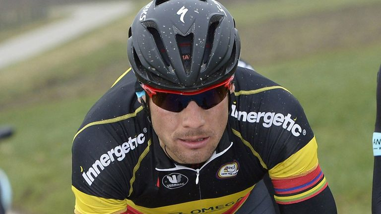 Tom Boonen is looking to regain full fitness after injuring his knee during Gent-Wevelgem