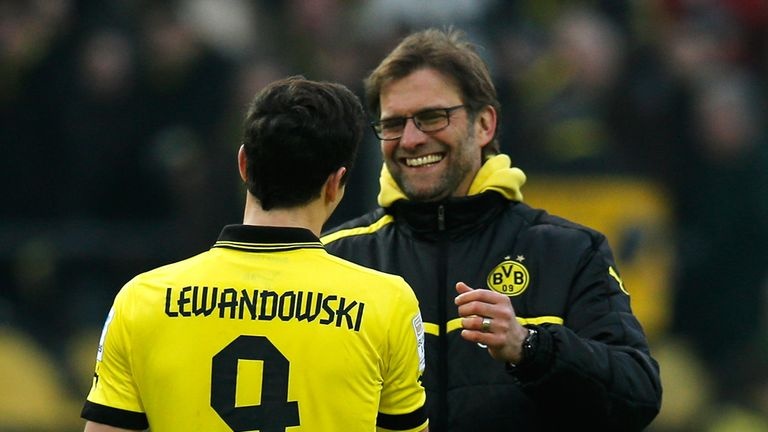 Robert Lewandowski was the hero for Dortmund but there was more to their success than that