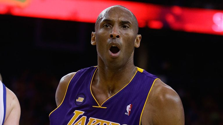 Legends like LA Lakers stalwart Kobe Bryant are revered in the States