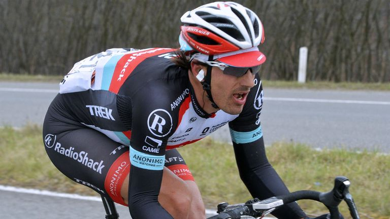 Fabian Cancellara: Suffered multiple fractures to his collarbone in a freak crash last year