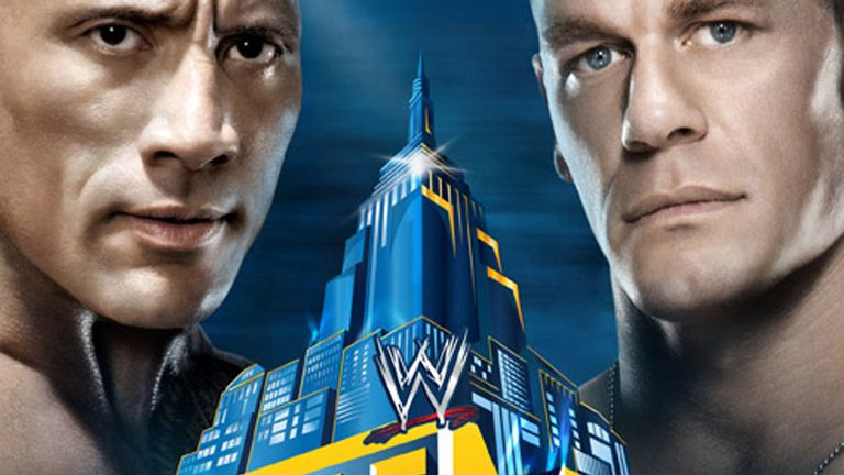 John Cena (R) and The Rock: Will go head-to-head at WrestleMania 29