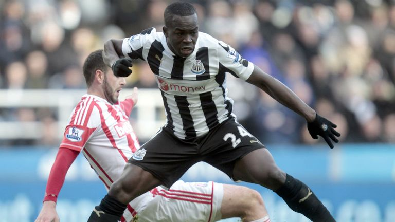 Cheick Tiote: Not looking forward to facing Arouna Kone