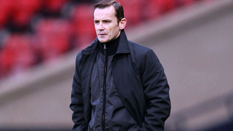 Danny Lennon: Pleased with the quality of football in the draw with Motherwell